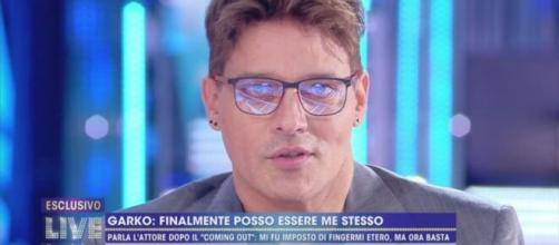 Live, Gabriel Garko: 'Non mi vedrete più in televisione'.