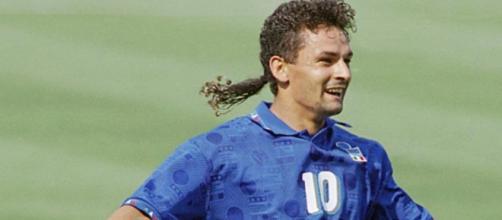 Nella foto Roberto Baggio a Usa 94.