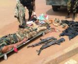 Capture du Général Séparatiste Ambazonien Ayekeh (alias 'man pass gun) dans le Lebialem le 13 septembre 2020 (c) Mindef