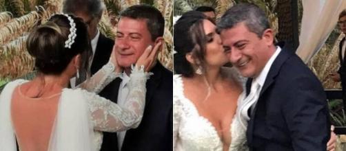 Chega ao fim casamento de Tom Veiga, o Louro José, e Cybelle Costa. (Arquivo Blasting News)