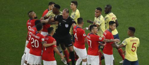 Chile e Colômbia será o grande jogo da segunda rodada das Eliminatórias para a Copa do Mundo de 2022. ((Arquivo Blasting News)