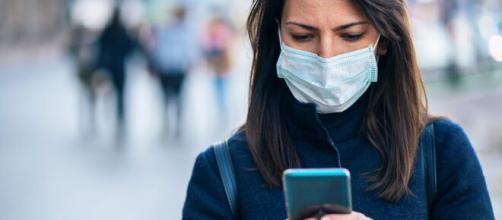 Coronavirus contagioso hasta 28 días en el teléfono móvil
