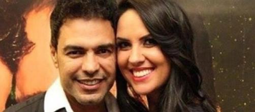 Em seu Instagram, Graciele Lacerda revela como lida com o assédio feminino das fãs com Zezé Di Camargo. (Arquivo Blasting News)