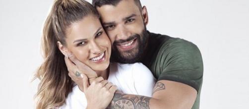 Fim do relacionamento de Gusttavo Lima e Andressa Suita está agitando a web. (Arquivo Blasting News)