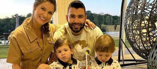 Gusttavo Lima e Andressa Suita se separaram na última semana. (Reprodução/Instagram)