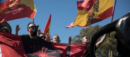 La Fiesta Naciona se celebra en Barcelona en una convocatoria de VOX