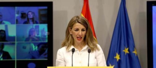 La ministra del Trabajo, Yolanda Díaz anunció las nuevas medidas que deberán acatar las empresas en España.