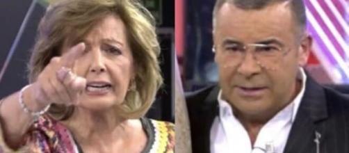 María Teresa Campos en guerra con Jorge Javier Vázquez: 'me está quitando la salud'