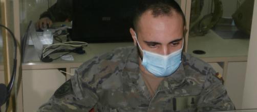 """Rastreadores militares de la Brigada """"Guadarrama"""" XII se ufanan en la detección de posibles positivos de coronavirus"""