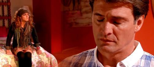 Renata ainda não sabe se volta com Jerônimo. (Reprodução/Televisa)