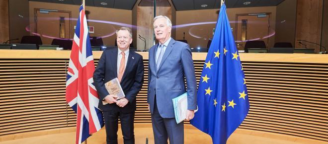 Estancamiento en las negociaciones comerciales entre Europa y Reino Unido