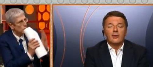 Fuori dal coro: polemica tra Mario Giordano e Matteo Renzi.