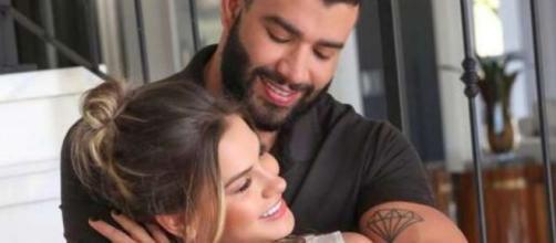 Gusttavo Lima e Andressa anunciaram separação recentemente. (Arquivo Blasting News)