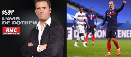 Jérôme Rothen détruit Antoine Griezmann et préfère Aouar, les fans des bleus le clashent