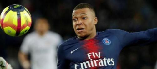 Kylian Mbappé, punta del Paris Saint Germain.