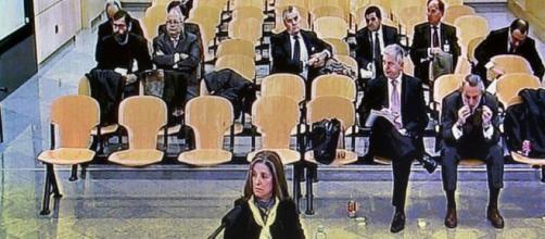 Los acusados del Caso Gürtel en su juicio en la Audiencia Nacional, el Supremo apenas reduce sus condenas pero no reconoce la Caja B del PP