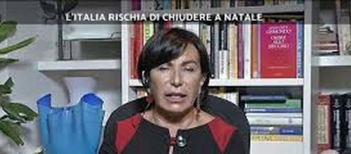 Maria Rita Gismondo ospite di Stasera Italia.