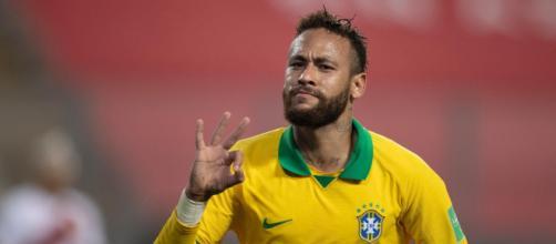 Neymar ultrapassa Ronaldo entre os maiores artilheiros da seleção brasileira. (Arquivo Blasting News)