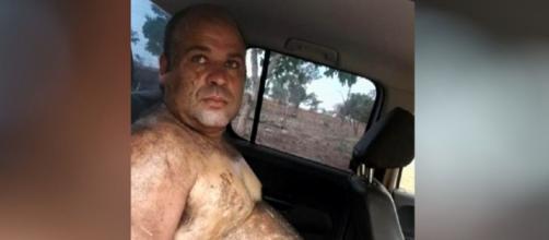 O homem foi preso após denúncias de vizinhos (Reprodução/TV Anhanguera)