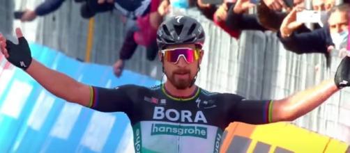 Peter Sagan, la prima vittoria al Giro d'Italia.