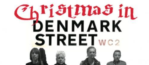 The single sleeve for Christmas in Denmark Street. (Image credit: Spizz Energi)