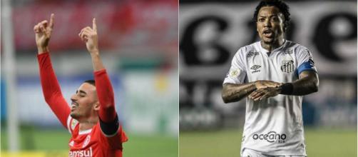 Thiago Galhardo e Marinho são as opções mais vistas pela 16ª rodada do Campeonato Brasileiro, pelo Cartola FC. (Arquivo Blasting News)