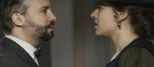 Una vita, anticipazioni 18-24 ottobre: Genoveva giura vendetta contro Felipe.