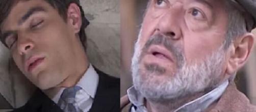 Una vita, trame Spagna: Emilio si finge morto durante uno scontro con Ledesma.