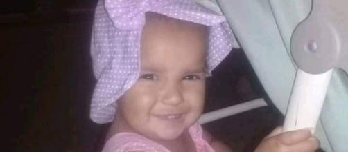 Bebê Maria foi assassinada pelo padrasto. (Reprodução/Arquivo Pessoal)