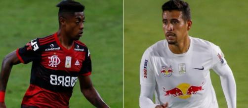 Em situações diferentes no Campeonato Brasileiro, Flamengo e Bragantino se enfrentam. (Arquivo Blasting News)
