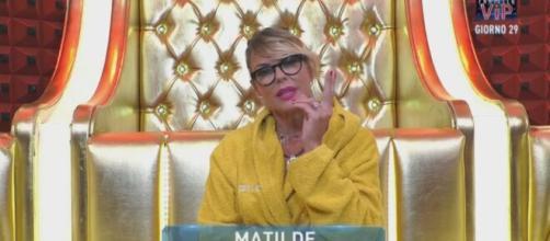 GF Vip: Matilde dopo le tensioni nella casa ha scritto una lettera.