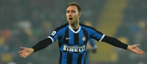 Inter, anche la Juventus sarebbe interessata a Eriksen.