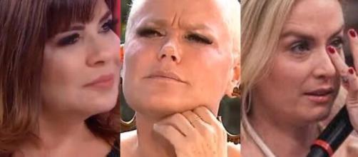 Mara Maravilha comenta sobre sua relação com Angélica e Xuxa. (Fotomontagem)