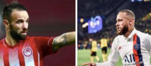 Mathieu Valbuena a critiqué le palmarès de Neymar et Twitter n'a pas aimé.