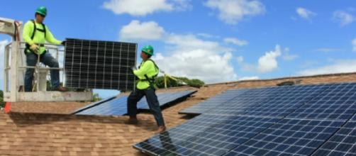 Renewable energy: solar power system for home. [Image source/Best Electric YouTube video]