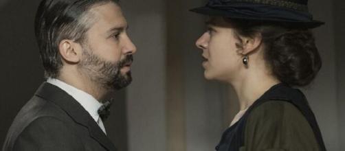 Una Vita spoiler spagnole novembre: Felipe ingannato da Genoveva decide di sposarla