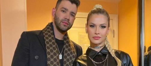 Gusttavo Lima e Andressa Suita terão mesmo advogado em divórcio. (Arquivo Blasting News)