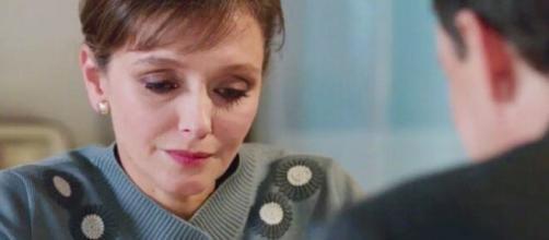 Il paradiso delle signore, anticipazioni puntata 19 ottobre: Silvia chiede a Luciano di rimanere a casa.