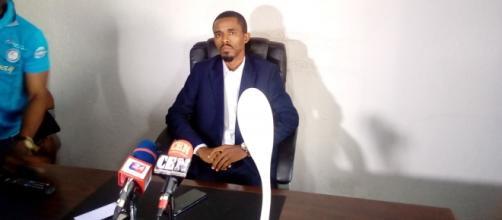 Jean Calvin Mebenga promoteur de Mekit Invest le vendredi 16 septembre 2020 (c) Odile Pahai
