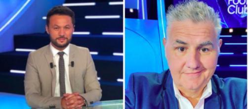 Karim Bennani et Pierre Ménès se clashent en direct à la télévision - photo montage comptes Instagram
