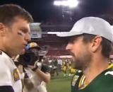 Brady outplayed Rodgers on Sunday. [Image Source: ESPN/YouTube]