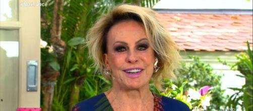 Ana Marai Braga se emociona e cai no choro ao relembrar de sua mãe no programa 'Mais Você'. (Reprodução/TV Globo)
