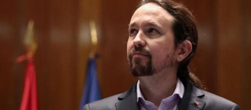 El secretario general del partido Podemos, Pablo Iglesias.