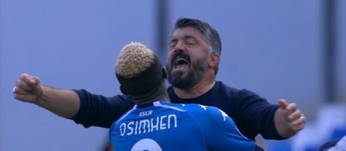 Gennaro Gattuso, allenatore del Napoli.
