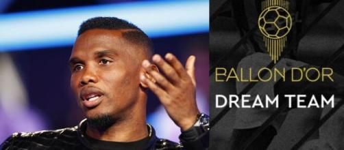 Samuel Eto'o clashe France Football et met la Toile en moonwalk