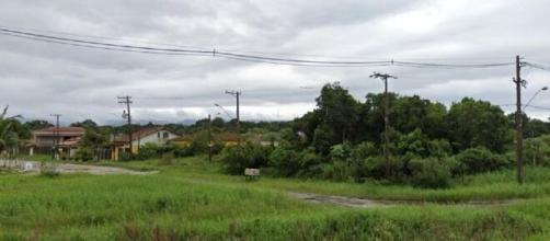 Suspeito foi encontrado na Avenida das Palmeiras. (Reprodução/Google Maps)