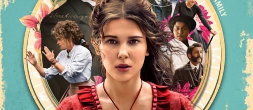 Filme da Netflix 'Enola Holmes' usa do recurso da quebra da quarta parede. (Reprodução/Netflix)