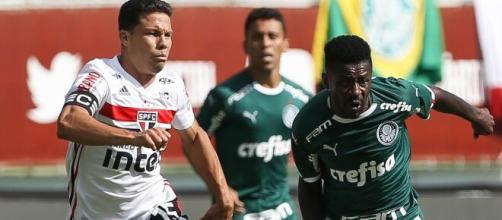 Hernanes, do São Paulo, e Ramires, do Palmeiras, já atuaram no futebol asiático. (Arquivo Blasting News)
