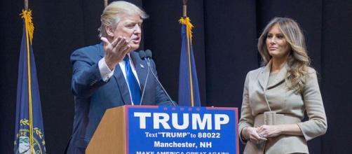 Le président américain Donald Trump testé positif à la COVID-19. Credit: Marc Nozell from Merrimack, New Hampshire, USA