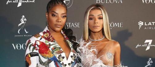 Ludmilla e sua ex-bailarina, e agora esposa, Brunna Gonçalves. (Arquivo Blasting News)